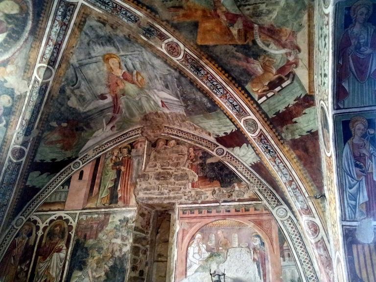 Roccaverano-Asti-affreschi-gotici