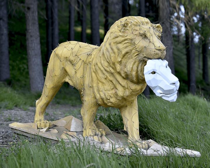 Parco Quarelli, Il leone